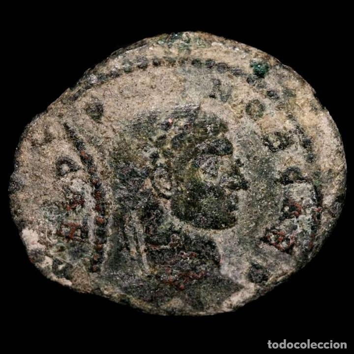 CRISPO FOLLIS, ERROR DE ACUÑACION, DOBLE GOLPE. ARLES VO TIS V / TA (Numismática - Periodo Antiguo - Roma Imperio)