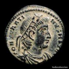 Monedas Imperio Romano: CONSTANTINO I - AE FOLLIS. AQUILEIA AQS (PALMA) GLORIA EXERCITVS. Lote 262379895