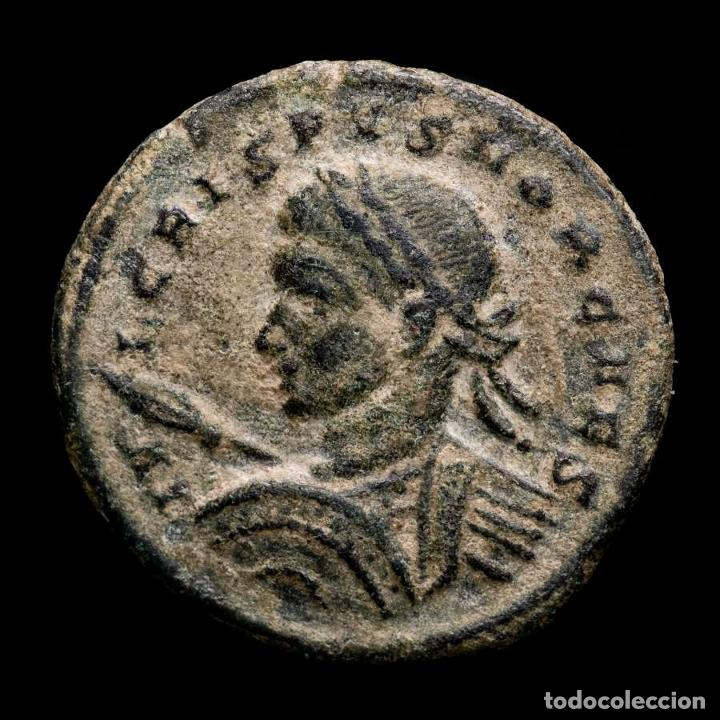 CRISPO CESAR FOLLIS DE LONDRES - BEATA TRANQUILITAS / PLON ALTAR (Numismática - Periodo Antiguo - Roma Imperio)