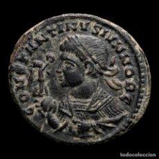 Monedas Imperio Romano: EXCELENTE BUSTO DE CONSTANTINO II - FOLLIS BEATA DE TRIER.. Lote 262383190