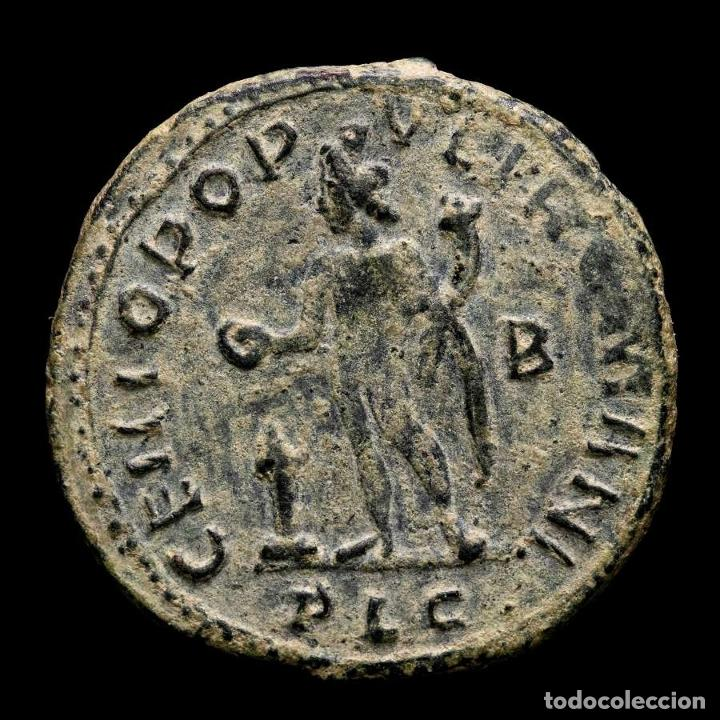 Monedas Imperio Romano: Galerio, Cesar - Follis, Lugdunum, GENIO POPVLI ROMANI - B // PLG - Foto 2 - 262384235