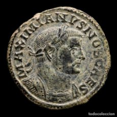Monedas Imperio Romano: GALERIO, CESAR - FOLLIS, LUGDUNUM, GENIO POPVLI ROMANI - B // PLG. Lote 262384235