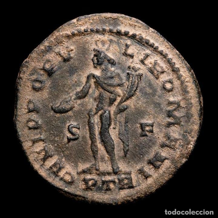 Monedas Imperio Romano: Galerio Cesar - Follis , Trier 303-305 dC., GENIO POPVLI ROMANI - Foto 2 - 262384600