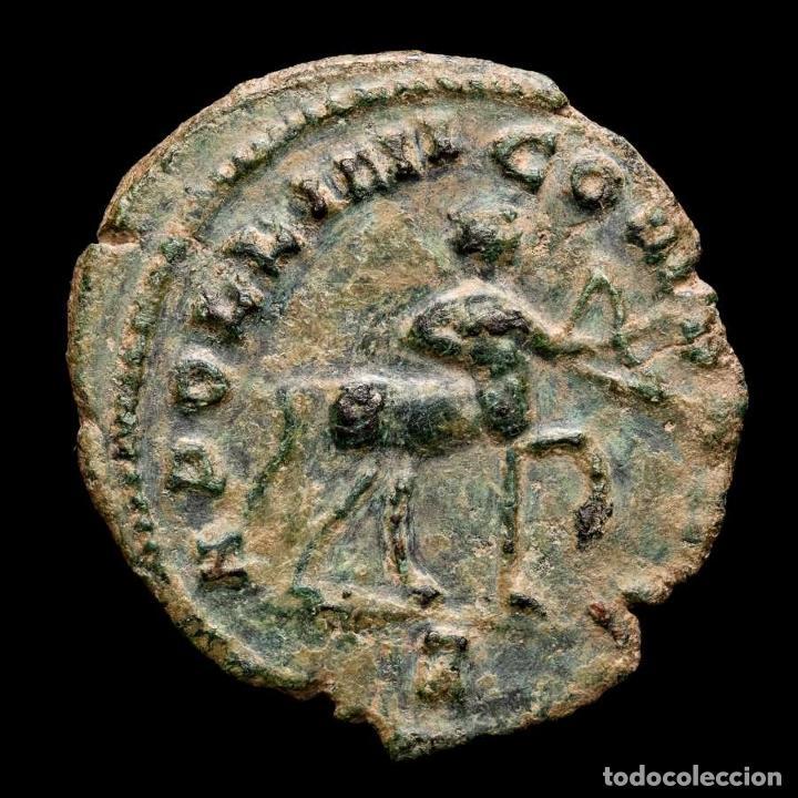 Monedas Imperio Romano: Gallieno - antoniniano. Zoo series. Rome. 267/8. dC. Centauro - Foto 2 - 262385560