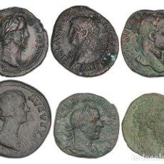 Monnaies Empire Romain: IMPERIO ROMANO, LOTE 6 MONEDAS. Lote 262522160