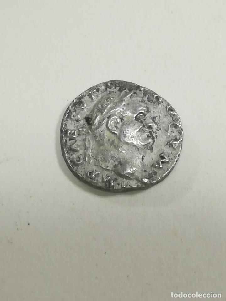 Monedas Imperio Romano: DENARIO VESPACIANO. RARO - Foto 2 - 49225405