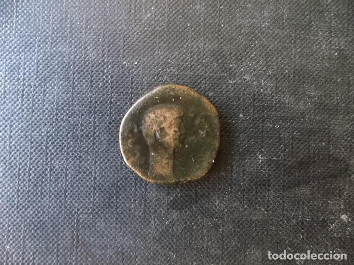 MONEDA AS TIBERIO HISPANO ROMANA TARRACO (Numismática - Periodo Antiguo - Roma Imperio)