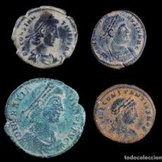 Monedas Imperio Romano: LOTE DE 4 MONEDAS ROMANAS.. Lote 268770949
