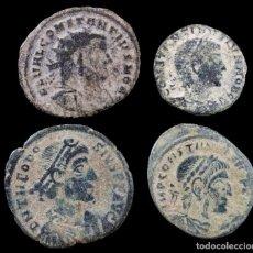 Moedas Império Romano: LOTE DE 4 MONEDAS ROMANAS.. Lote 268772694