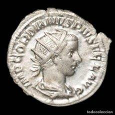 Monedas Imperio Romano: GORDIANO III. ANTONINIANO, PLATA ROMA. PM TRP IIII COS II PP (939). Lote 269189353