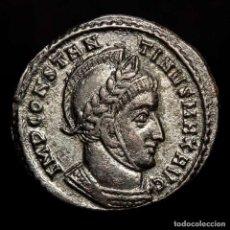 Monedas Imperio Romano: CONSTANTINO I Æ FOLLIS PLATEADO TICINUM VICTORIAE LAETAE PRINC PERP. Lote 269229918