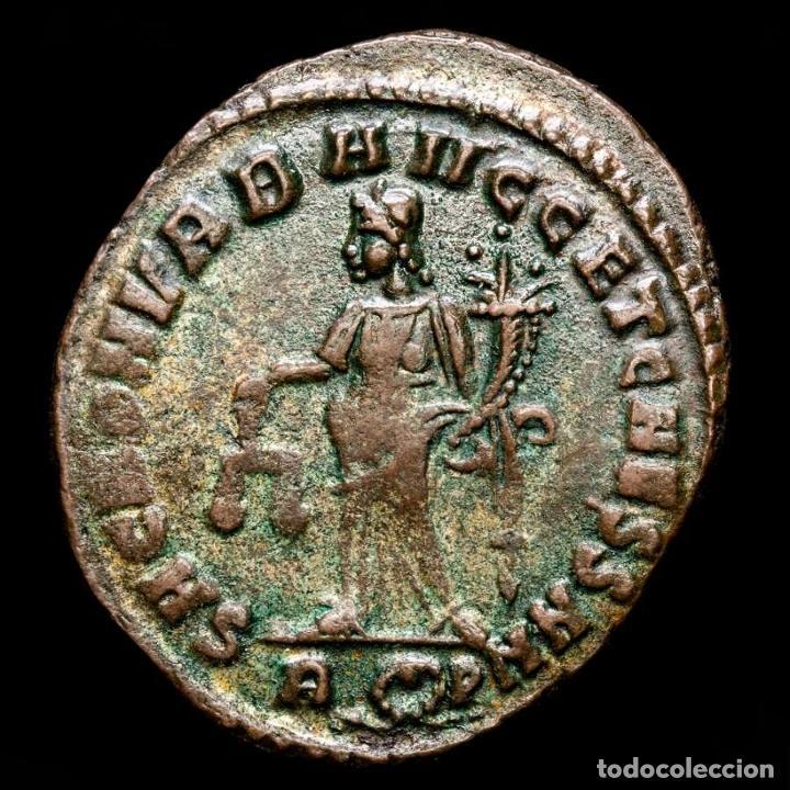 MAXIMINIANO (286-310 DC). FOLLIS, ROMA, SAC MON VRB AVGG / RΩP (Numismática - Periodo Antiguo - Roma Imperio)