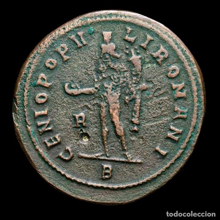 Monedas Imperio Romano: Diocleciano - Æ Follis de Roma. Genio - R / B. 296/7 dC. (6051) - Foto 2 - 269388183