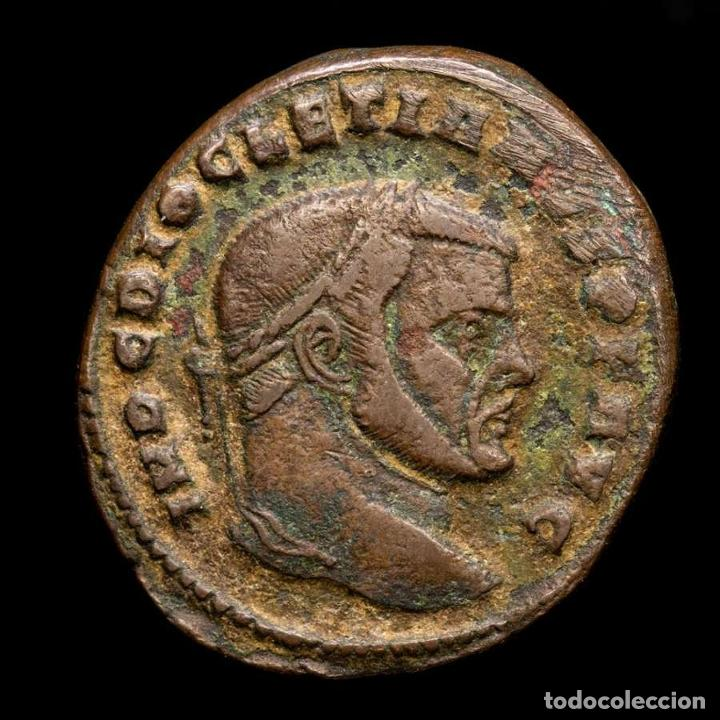 Monedas Imperio Romano: Diocleciano (284-305) Æ follis, Roma. Sacra Moneta - ✩ / RP (6053) - Foto 2 - 269388283
