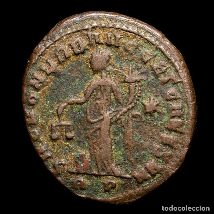 DIOCLECIANO (284-305) Æ FOLLIS, ROMA. SACRA MONETA - ✩ / RP (6053) (Numismática - Periodo Antiguo - Roma Imperio)