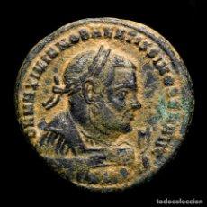 Monedas Imperio Romano: MAXIMIANO - FOLLIS POST ABDICACION PROVIDENCIA Y QUIES - AQUILEIA.. Lote 269388508
