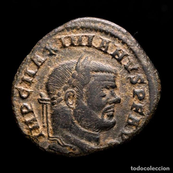 MAXIMIANO - FOLLIS DE ROMA, GENIO POPVLI ROMANI / S✩ (6057) (Numismática - Periodo Antiguo - Roma Imperio)