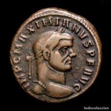 Monedas Imperio Romano: MAXIMIANO, FOLLIS DE TICINUM, 303 DC. - GENIO POPVLI ROMANI / ST. Lote 269388673
