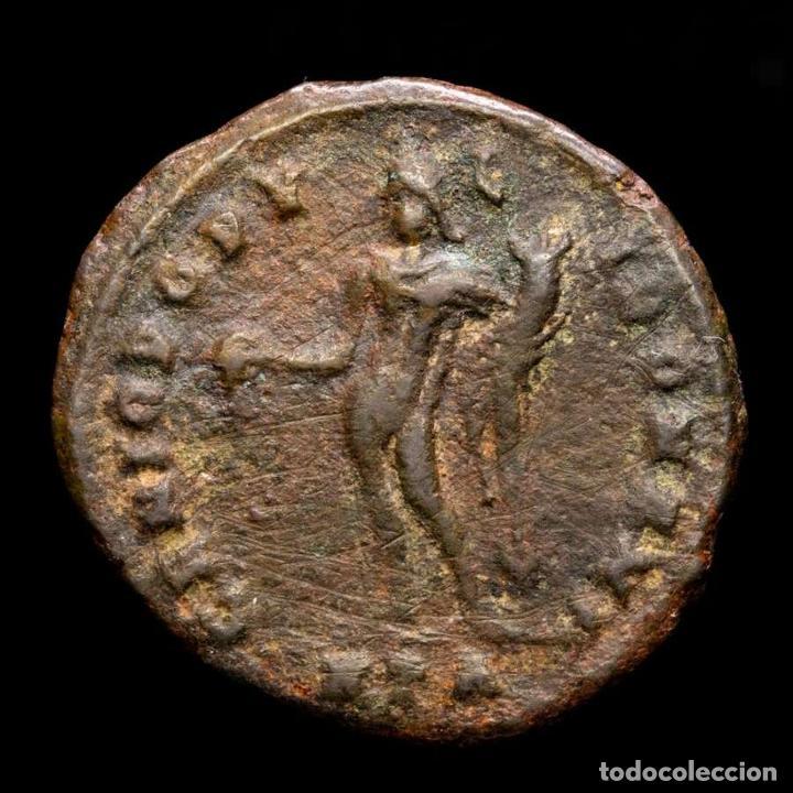 Monedas Imperio Romano: Imperio Romano - Maximiano. Æ Follis. GENIO POPVLI ROMANI / HTA - Foto 2 - 269388843