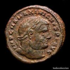 Monedas Imperio Romano: IMPERIO ROMANO - MAXIMIANO. Æ FOLLIS. GENIO POPVLI ROMANI / HTA. Lote 269388843