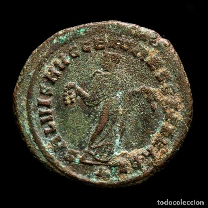 Monedas Imperio Romano: Maximiano 286-305 Follis Cartago. SALVIS AVGG ET CAESS FEL KART / A - Foto 2 - 269389003