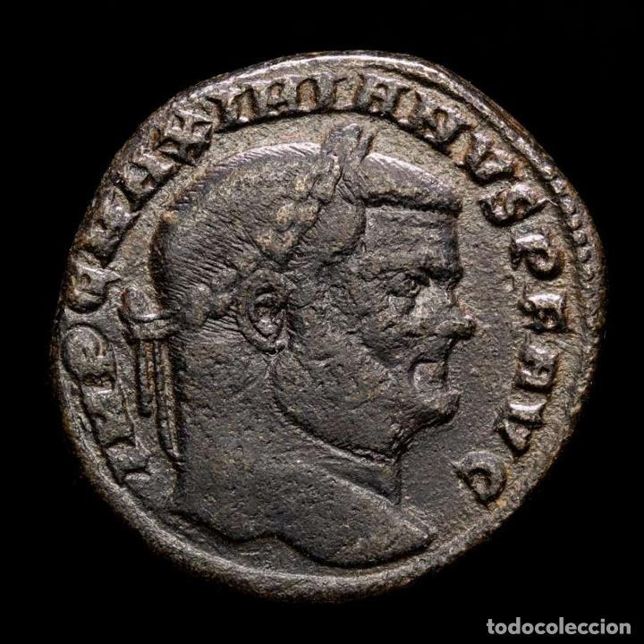 MAXIMINIANO (286-310 DC). FOLLIS, SAC MON VRB AVGG ET CAESS (6063) (Numismática - Periodo Antiguo - Roma Imperio)