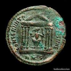 Monedas Imperio Romano: MAXIMIANO - FOLLIS DE ROMA - TEMPLO CONSERVATORES VRB SVAE / R✩P. Lote 269389553