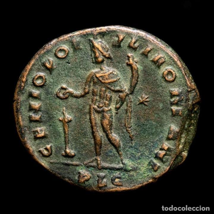 Monedas Imperio Romano: Maximiano (286-305 dC.) Follis de Lugdunum - Genio altar - ✩ / PLG - Foto 2 - 269389733