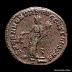 Monedas Imperio Romano: CONSTANCIO I CESAR - FOLLIS DE ROMA - MONETA / T MAZA EN EXERGO. Lote 269389933