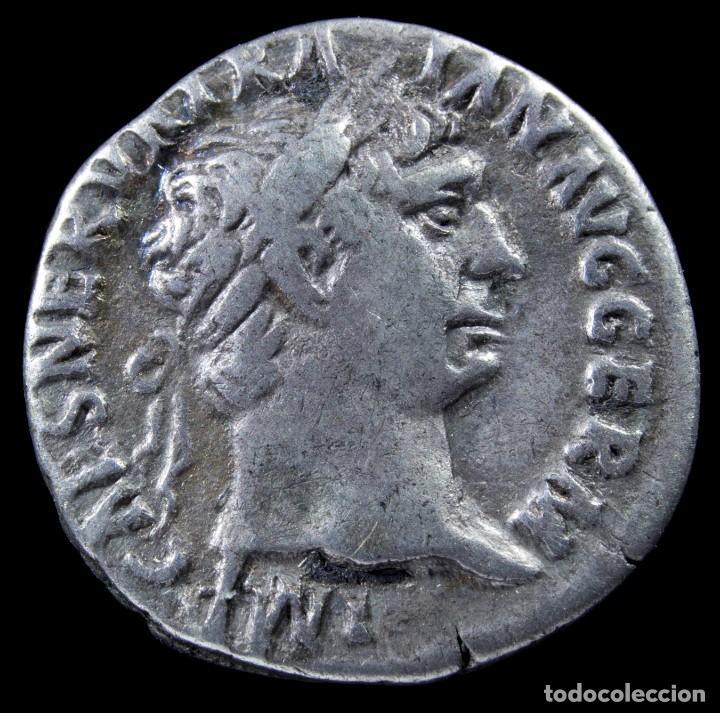 DENARIO DE TRAJANO - PM TR P COS IIII PP - 18 MM / 3.15 GR. (Numismática - Periodo Antiguo - Roma Imperio)