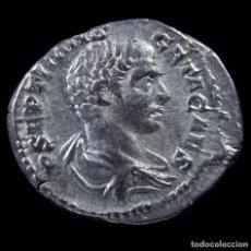 Monedas Imperio Romano: DENARIO DE GETA - PONTIF COS - 20 MM / 3.20 GR.. Lote 269826003