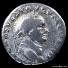 Monedas Imperio Romano: DENARIO DE VESPASIANO - AVGVR TRI POT - 17 MM / 3.18 GR.. Lote 269827028