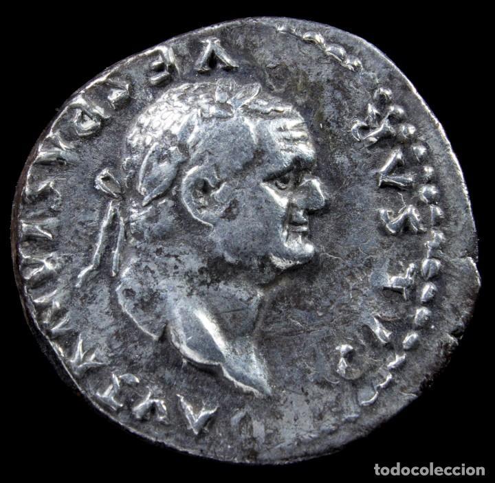 DENARIO DE VESPASIANO - ANNONA AVG - 18 MM / 3.25 GR. (Numismática - Periodo Antiguo - Roma Imperio)