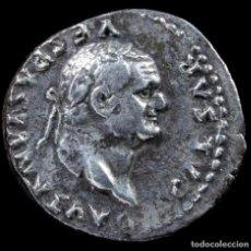 Monedas Imperio Romano: DENARIO DE VESPASIANO - ANNONA AVG - 18 MM / 3.25 GR.. Lote 269828628