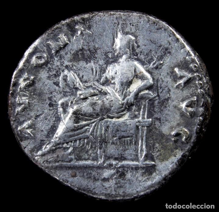 Monedas Imperio Romano: Denario de Vespasiano - ANNONA AVG - 18 mm / 3.25 gr. - Foto 2 - 269828628