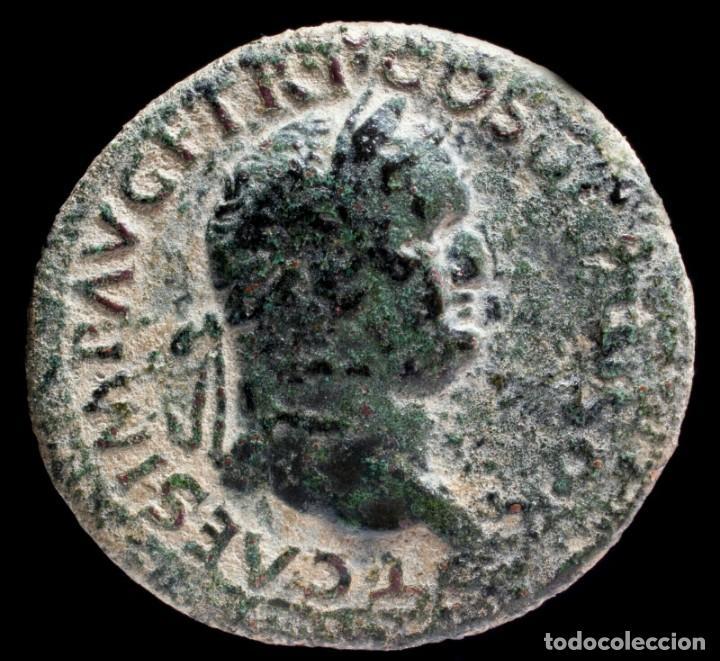 Monedas Imperio Romano: As de Tito - IVDEA CAPTA - 29 mm / 11.31 gr. - Foto 2 - 269966238