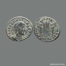 Monedas Imperio Romano: CONSTANTE, FOLLIS, ARLES . GLORIA EXERCITVS. SCONST.127-M. Lote 269980783