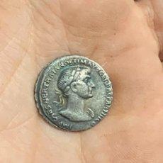 Moedas Império Romano: RÉPLICA MONEDA 98-117 D.C. 1 DENARIO. EMPERADOR TRAJANO. IMPERIO ROMANO. Lote 270920663