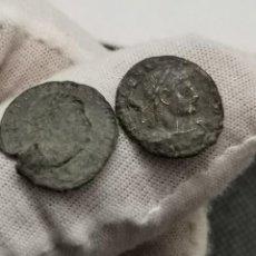 Monedas Imperio Romano: CONSTANCIO II 1/2 CENTENIONAL, (CRISMÓN). GLORIA EXERCITVS. (337-340 D.C.) SCONS.. Lote 271437363