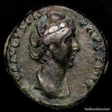 Monedas Imperio Romano: IMPERIO ROMANO - FAUSTINA SENIOR (+141 D.C.). AS - AETERNITAS S-C. Lote 271596928