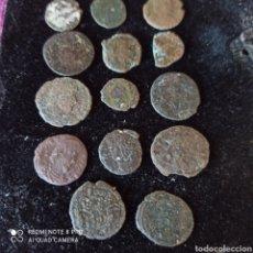 Monedas Imperio Romano: LOTE 14 MONEDA ROMANA A LIMPIAR Y CATALOGAR, VARIOS ESTADOS Y FAENA,FALTA DE TIEMPO.. Lote 271812828