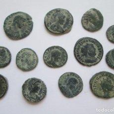 Monedas Imperio Romano: ROMA IMPERIO * LOTE DE 13 COBRES. Lote 271843553