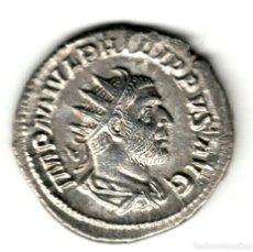 Monedas Imperio Romano: ANTONINIANO PLATA IMPERIO ROMANO FILIPO I 245-247 D.C. ROMAE AETERNAE. Lote 273323643