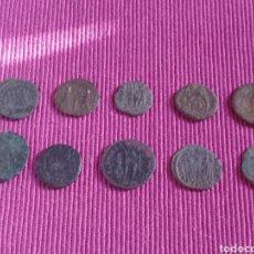 Monedas Imperio Romano: LOTE DE 10 MONEDAS ROMANAS. Lote 273736408