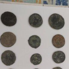 Moedas Império Romano: LOTE 25 MONEDAS BAJO IMPERIO ROMA.. Lote 276020803