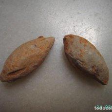 Monedas Imperio Romano: LOTE DE 2 BALAS DE HONDA IBEROROMANAS.. Lote 276464968