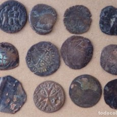 Moedas Império Romano: LOTE DE 12 MONEDAS ANTIGUAS SIN IDENTIFICAR. Lote 276778333