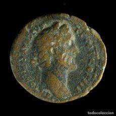 Moedas Império Romano: AS DE ANTONINO PIO - GENIO ADVENTVS - 28 MM / 10.46 GR.. Lote 276782573