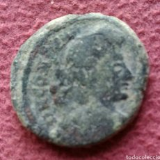 Monedas Imperio Romano: MONEDA ROMANA CONSTANTINO MAGNO CENTENIONAL M EN EL CAMPO. Lote 277015388