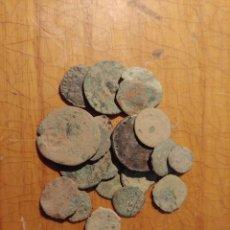 Monedas Imperio Romano: LOTE DE 20 MONEDAS ROMANAS PARA LIMPIAR Y CLASIFICAR LOTE MUY INTERESANTE. Lote 277436448